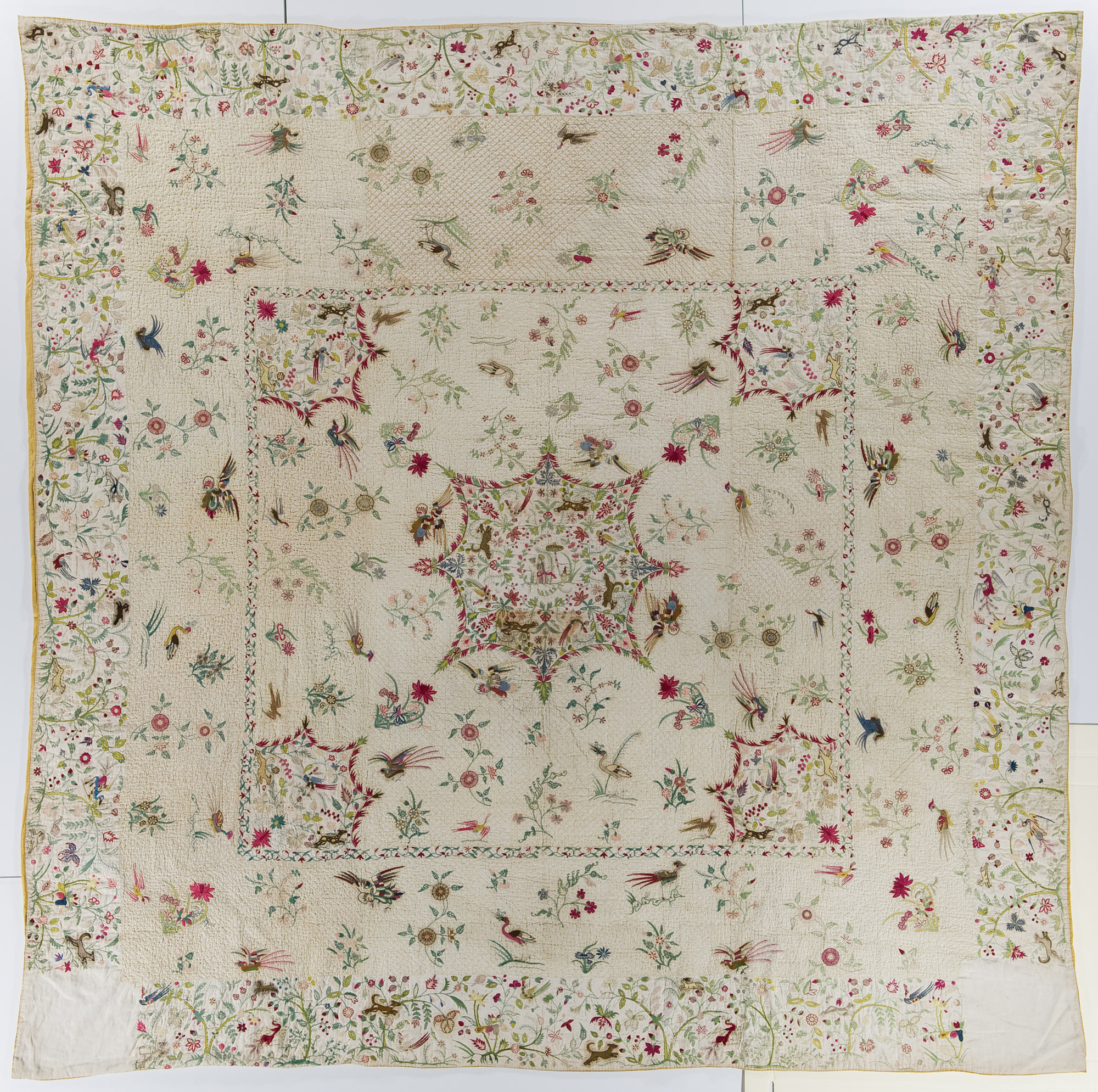 Early Quilt - Medallion