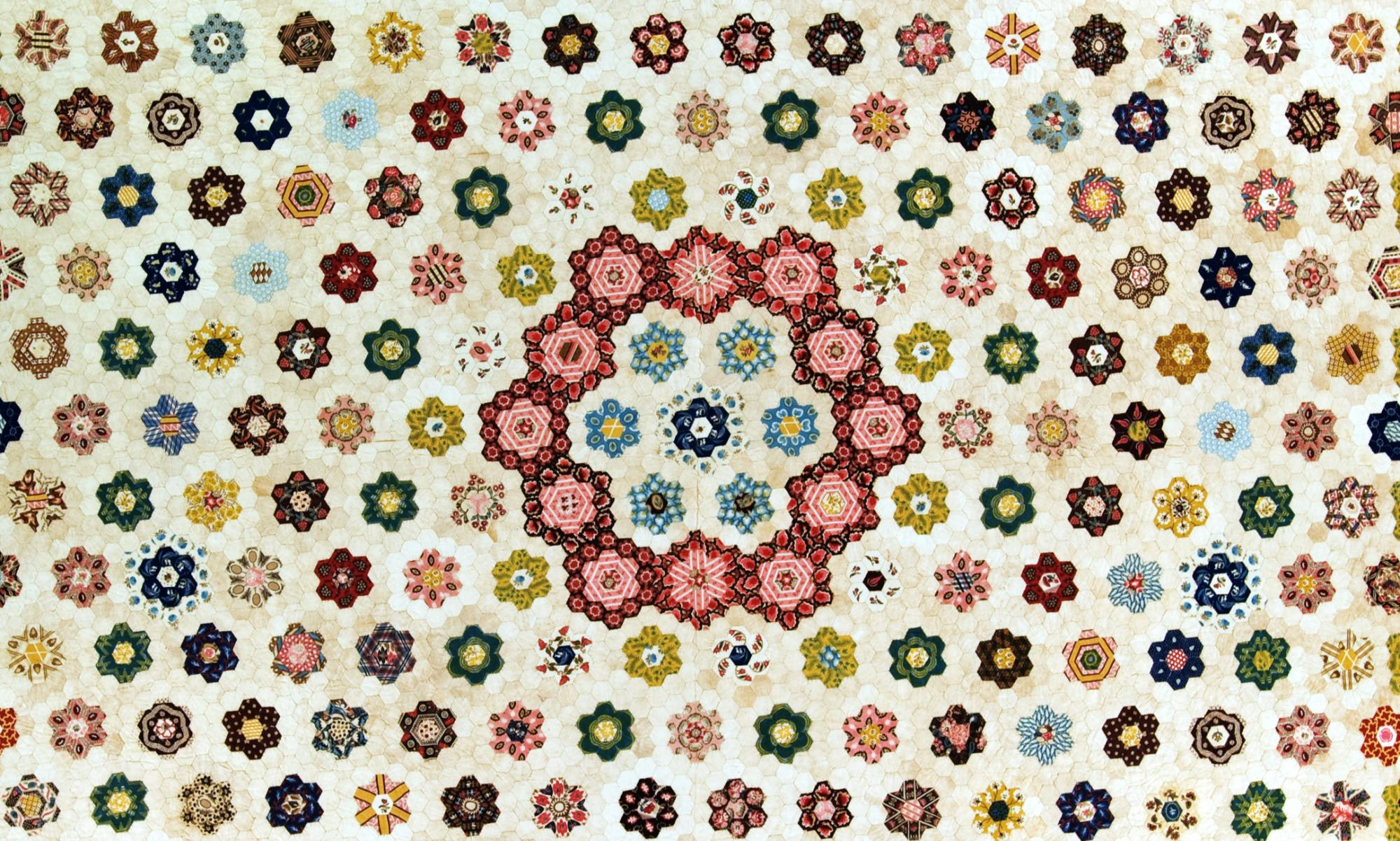 Elegant Geometry: American and British Mosaic Patchwork