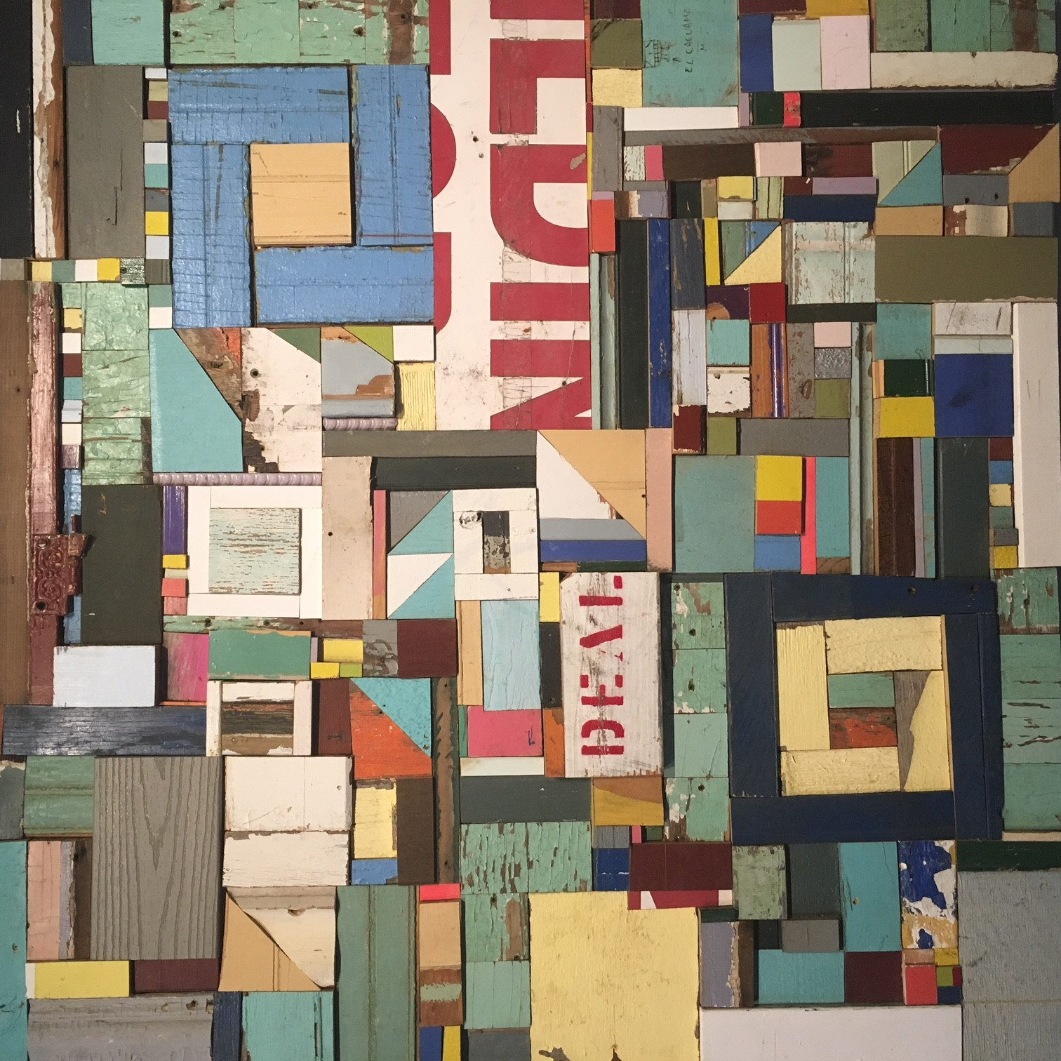 Memory & Material: Wood Quilts by Laura Petrovich Cheney
