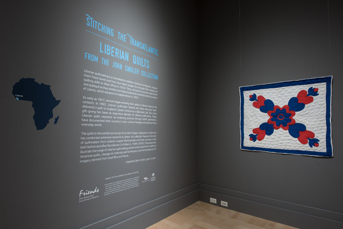 Stitching the Transatlantic: Liberian Quilts from the John