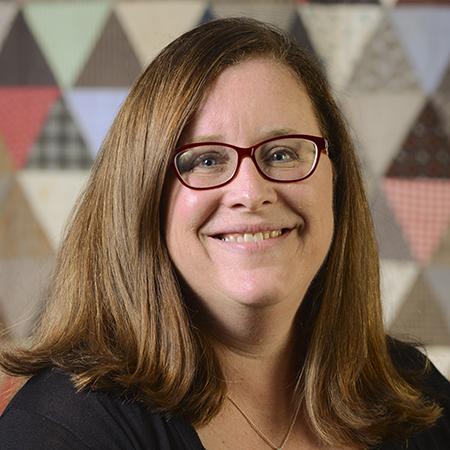 Portrait of guest curator Jennifer Keltner