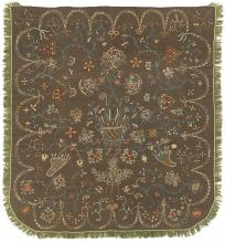 Embroidered Bedcover
