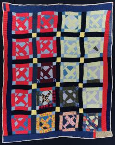 African American Quilt - Airplane