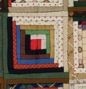 Design Dynamics of Log Cabin Quilts