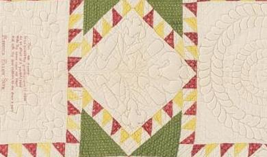 Feathered Star Quilt Photo
