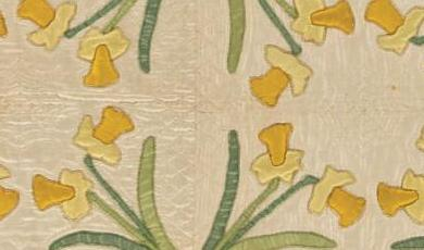 Dancing Daffodils, Mountain Mist pattern #24