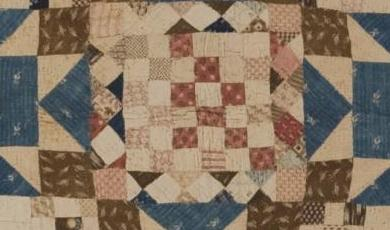 Nine-Patch Variation Quilt Photo
